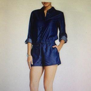 CeCe by Cynthia Steffe dark indigo jumper Size 0